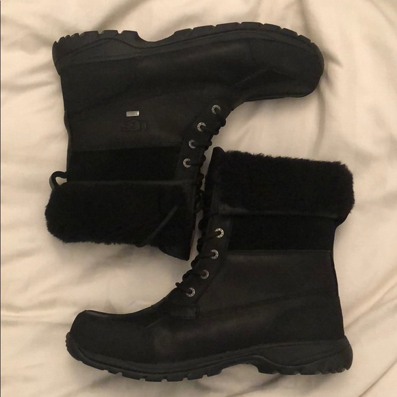 b4f97bf8533 Men's UGG snow boots butte sheepskin leather